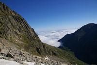 Le Val d&#39Astau sous les nuages