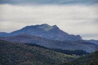 Le Pic du Gar et le Pic Saillant depuis Montrejeau