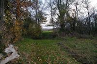 Le chemin longeant le canal du Moulin vers Pont de Bois