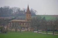 L'Eglise de Sainte Foy d'Aigrefeuille