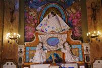 La Vierge Noire dans la Basilique de la Dorade