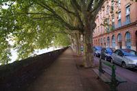 Le quai Lucien Lombard