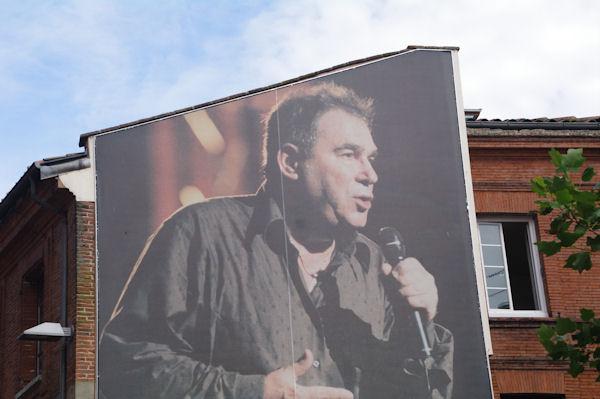 Claude Nougaro à l_affiche, rue Pargaminières