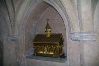 Dans la crypte de la Basilique Saint Sernin