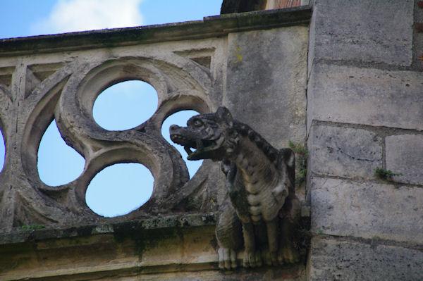 Une gargouille de la Cathédrale Saint Etienne