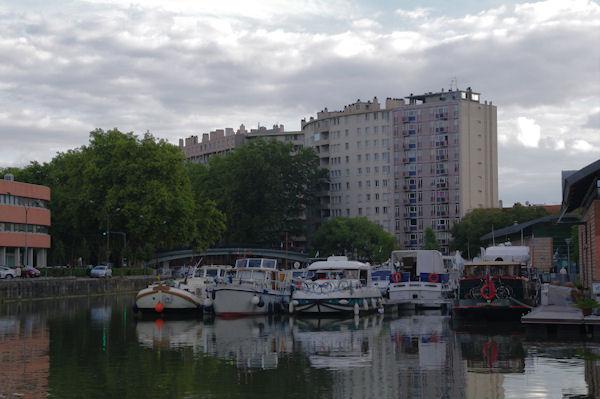 Le Canal du Midi au Port Saint Sauveur