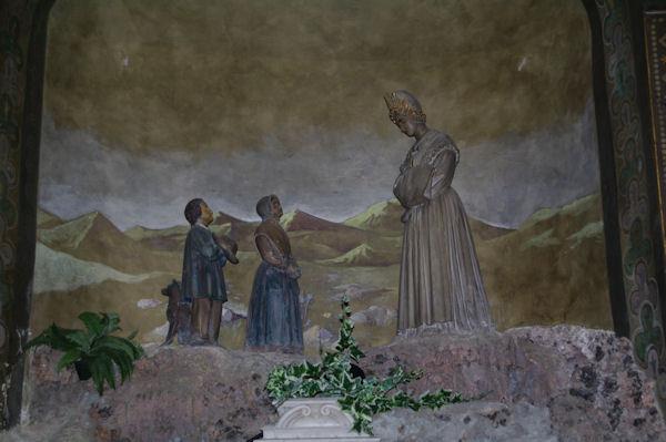 Notre Dame de la Salette dans l_église St Exupère