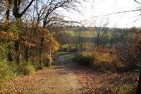 En descendant vers le vallon du ruisseau des Arnis