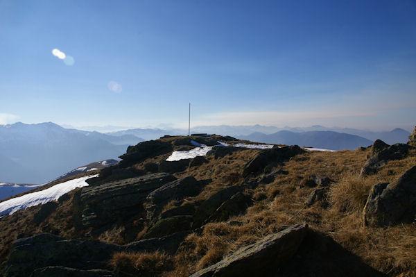 Le sommet du Tuc de l&#39Etang