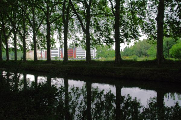 Les nouvelles cités U au bord du Canal du Midi