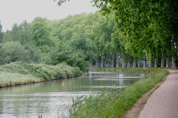 Le Canal du Midi vers Borde Rouge
