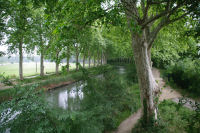 Le Canal du Midi depuis le Pont Giordano Bruno
