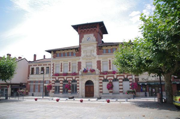 La Mairie de Villemur sur Tarn