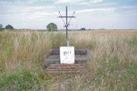 Une croix vers La Croix de la Peyre