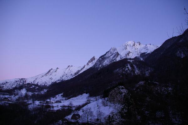La crête du Pic du Midi d_Arrens