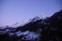 La crete du Pic du Midi d'Arrens