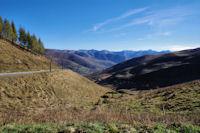 La vallée du ruisseau des Artigues depuis le Col de Peyresourde