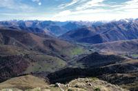 La vallee du Larboust, au fond, Bagneres de Luchon