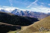 Le Pic d'Arrouyette et la station de Peyresourde