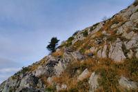 La crete Est du Soum d'Andorre bien pentue
