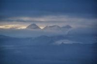 Le Pic du Midi de Bigorre au lever du jour