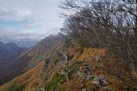 La crete entre le Soum d'Andorre et le Soum de Conques