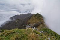 La crête entre le Soum d_Andorre et le Soum de Conques