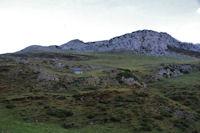 La cabanne d'Andorre et le Soum de Leiz