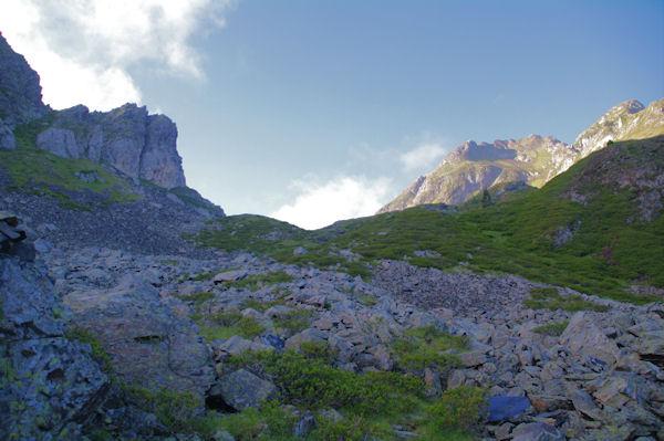 Le Col de Paloumère en vue