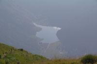 Le Lac d'Estaing depuis le Col de la Paloumere