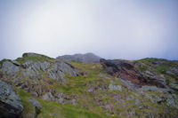 La voie normale pour monter au Pic de l'Arcoeche
