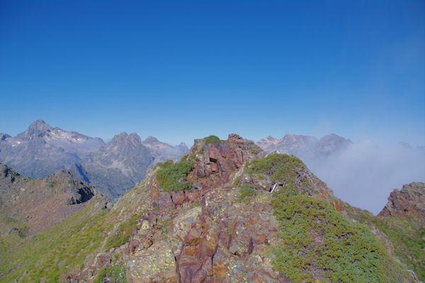 Le sommet du Pic de l_Arcoèche