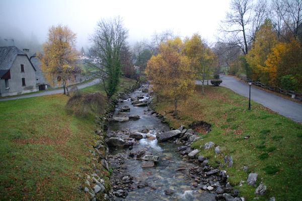 Le gave d_Arrens depuis le Pont du Labadet