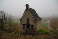 La petite chapelle St Roch, bien degagee de la vegetation