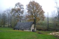 Une grange vers Bascou
