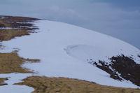 La crete Sud du Pic de Mont Aspet