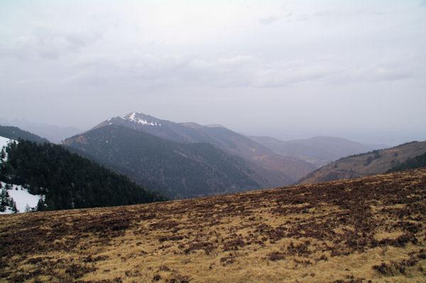 La vallée de Nistos, au fond, le Pic de Montaut