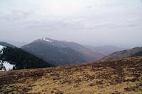 La vallee de Nistos, au fond, le Pic de Montaut