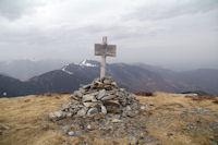 Au sommet du Pic de Mont Aspet