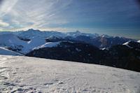 Le Pic du Midi de Bigorre depuis le Mont Aspet