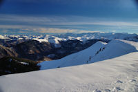 L'Aneto depuis le Pic de Mont Aspet