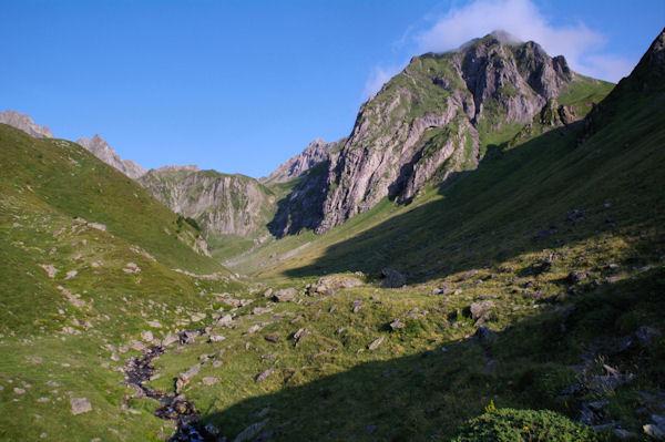 Le vallon supérieur du Labas après Bouleste