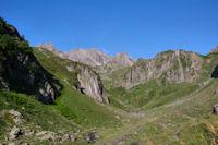 Le vallon superieur du Labas apres Bouleste