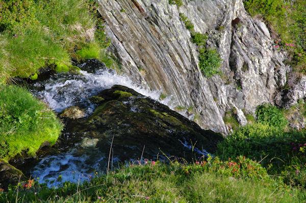 Belles cascades sur le Labas