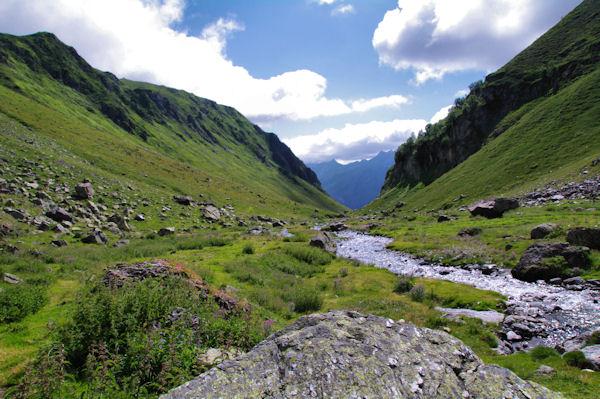 La vallée menant à Bouleste
