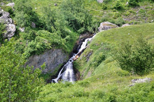 Cascades sur le LAbas depuis Mauba