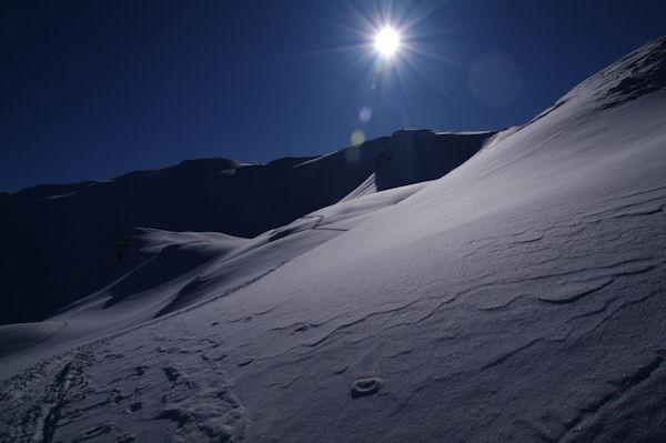 Ligne de crête entre le Pic de Barran et le Pic du Mont