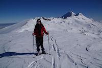 Camille au Pic du Mont