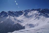 Vue Sud Est depuis le Pic du Mont