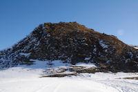 Le Pic de Naouit depuis le Col de Moulata